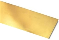 "K & S KS8248 K&S Engineering BRASS Strip 0.064"" x 1"" x 12"""