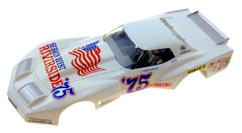 monogram m5165 tampo printed body greenwood corvette sebring west 75 livery professor motor
