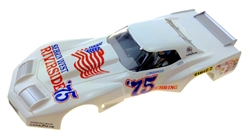 "Monogram M5165 Tampo Printed Body -  Greenwood Corvette ""Sebring West"" #75 Livery"