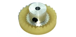 "Koford M668-28 28 Tooth 48 Pitch Crown Gear for 3/32"" Axle"