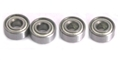 MBSLOT MB0014W62 4WD Ball Bearings 6mm OD x 2mm Bore x 4 Flangeless
