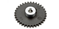 "MBSLOT MB07003 34 Tooth Sidewinder Crown Gear 3/32"" Axle 19 mm"