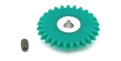 "MBSLOT MB08027 27 Tooth AW Spur Gear for 3/32"" Axle Setscrew Hub"