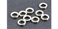 MBSLOT MB09001 Axle Spacers 1mm for 3mm Axles x 10