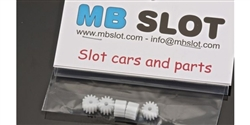 MBSLOT MB12114 Nylon Pinions 14 Tooth x 5 Metric Spec