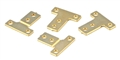 MBSLOT MB13003 Body Mount Brackets for FR4 1/24 Chassis x 4