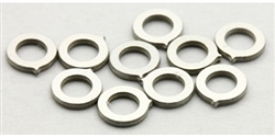"MBSLOT MB19040 Axle Spacers for 3/32"" Axles 0.70mm x 10"