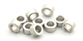 "MBSLOT MB19044 Stainless Axle Spacers for 3/32"" Axles 2mm x 10"