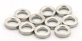 "MBSLOT MB19045 Stainless Axle Spacers for 3/32"" Axles 1mm x 10"