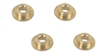 "MBSLOT MBA0732 Brass 3/32"" Axle Bushings x 4 for MB0721/0722 Pods"