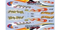 MODEL KING DECALS MK2002 1/24 / 1/24 Drag Cars Waterslide Decals