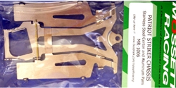 Mossetti Racing MR-1006 1/24 Patriot Striker C Can Chassis Aluminum Pans