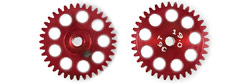 "MRSLOTCAR MR6336 Sidewinder Gear 36 Tooth Ergal 19.0mm for 3/32"" Axles"