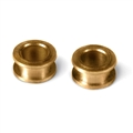"MRSLOTCAR MR8051R NEW Axle Bushings for 3/32"" Axles - Machined Bronze"