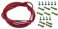 Ninco N80119 Silicone Lead Wire w/ Motor & Guide Connectors