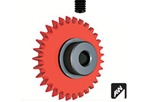 Ninco N80245 PRORACE EVO 3 AW 31 Tooth Red  Axle Gear 3/32""