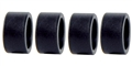 Ninco N80522 Ultra Low Profile Zero Grip Racing Slicks 17.5 x 9mm x 4