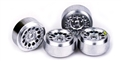 Ninco N80715 PRO TRUCK Plastic Wheels 2.48mm Axle x 4