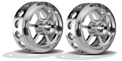 "Ninco N80757 ULTRA Light Weight Wheels 17.5mm x8.6mm 3/32"" Axle"