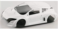 Ninco N80887 PRORACE EVO Megane Trophy Unpainted Body Kit
