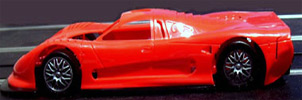 "NSR NSR1034R  Mosler MT900R with Ultra Light ""Racing"" body - Red"