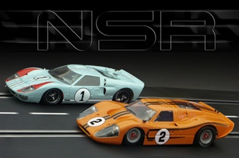 Nsr Nsr1115sw 1966 Ford Gt40 Mark Ii 1 24 Hours Of Lemans
