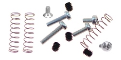 NSR NSR1239B SCREW FULL KIT (4axle screws + 3 medium springs + M2X3, M2X3 smaller head, M2x4, M2x6, M2x8, M2x10)