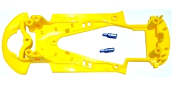 NSR NSR1472 EVO Chassis Audi R8 EXTRALIGHT Yellow for AW, SW or Inline