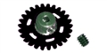 NSR NSR2006432 32T Extra Light SW PLASTIC Axle Gear 17.5mm For 2mm Axle