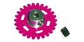 NSR NSR2006433 33T Extra Light SW PLASTIC Axle Gear 17.5mm For 2mm Axle