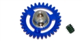 NSR NSR2006630 30T Extra Light AW PLASTIC Axle Gear 16mm For 2mm Axle