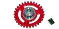 NSR NSR2006631 31T Extra Light AW PLASTIC Axle Gear 16mm For 2mm Axle