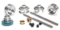 "NSR NSR4201 Front & Rear PRO Axle Kit INLINE most brands 16"" wheels"