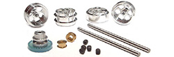 "NSR NSR4211 Front & Rear PRO Axle Kit INLINE most brands 17"" wheels"