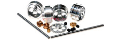 "NSR NSR4213 Front & Rear PRO Axle Kit - Anglewinder setup for Ninco applications - 17"" wheels"
