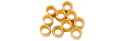 "NSR NSR4815 AXLE SPACERS 3/32 .080"" BRASS  (10pcs)"
