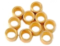 "NSR NSR4814 AXLE SPACERS 3/32 .060"" BRASS  (10pcs)"
