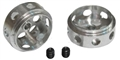 NSR NSR5009 NO-AIR system DRILLED 16.5 x 8.3mm aluminum front wheels