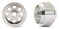 "NSR NSR5020 3/32 ALUM. FRONT WHEELS 13"" DIAMETER NO-AIR SYSTEM (2 PCS) - FORMULA NSR"