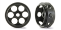 "NSR NSR5024 3/32 CNC PLASTIC ULTRALIGHT WHEELS FRONT 17"" DIAMETER - ONLY 0.4G!!! THE LIGHTEST IN THE WORLD!!!  (2PCS)"