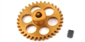 NSR NSR6234 3/32 EXTRALIGHT ANGLEWINDER GEAR 34T 17.5mm for NINCO