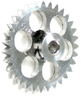 NSR NSR6534 3/32 EXTRALIGHT ANGLEWINDER GEAR 34t for NSR AW CARS dia. 16.8mm