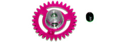 NSR NSR6633 3/32 PLASTIC ANGLEWINDER GEAR 33T MAGENTA for NSR AW 16mm
