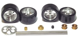 "NSR NSR9203 Front + Rear Axle Kit for NINCO Anglewinder 16"" Rims"