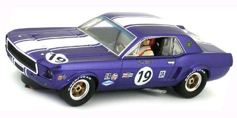 Pioneer P048 Ford 1968 Mustang Notchback No.19 Jim West