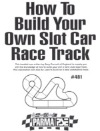 "Parma P481 Pamphlet ""How to Build a Slot Racing Track"""