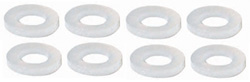 "Parma P618s 1/8"" Axle Spacers - Nylon 3/64"" thick"