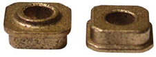 "Parma P628s 1/4"" square bushings for 1/8"" axle"