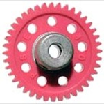"Parma P70128s 1/8"" Axle 48 Pitch 28 Tooth Spur Gear"