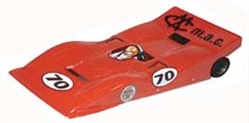 Parma P924B 1/24 M.A.C Ferrari 612 Roadster RETRO Clear Body